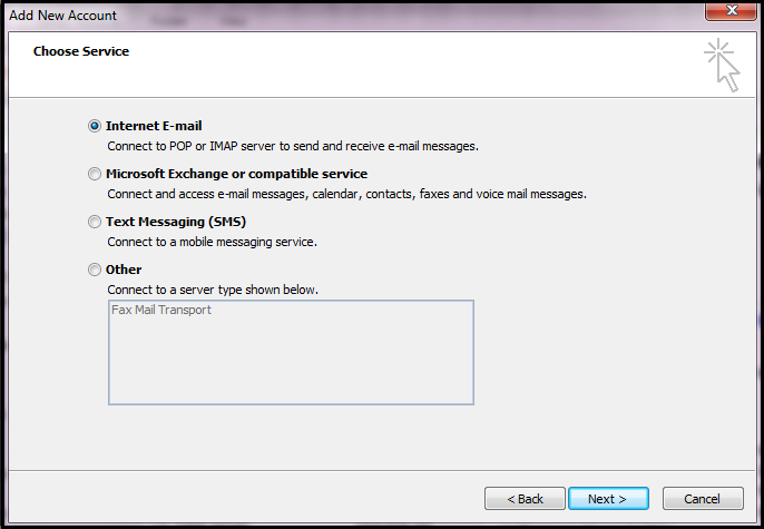 How To Set Up IMAP Email Accounts In Outlook - UK2 net - UK2