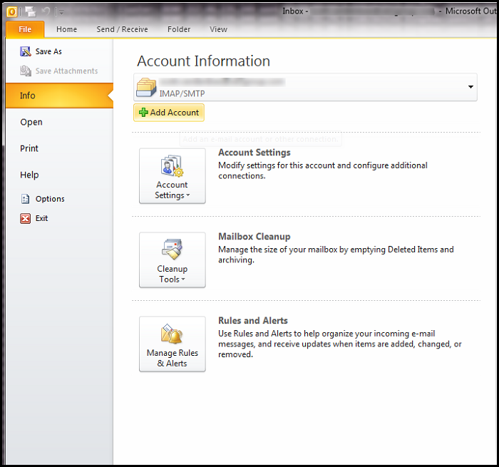 How To Setup POP Email Accounts In Outlook - UK2 net - UK2