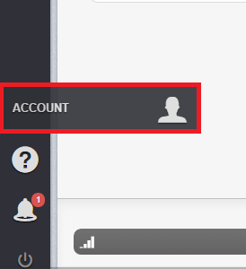 account tab