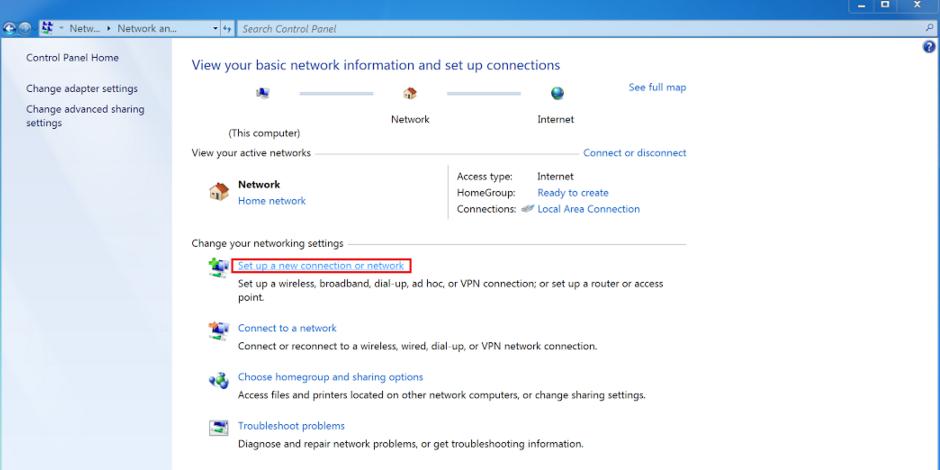 How To Set Up A VPN In Windows 7 PPTP - UK2 net - UK2 net