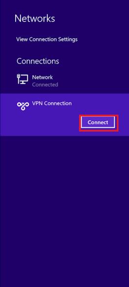 how to create vpn in windows 8