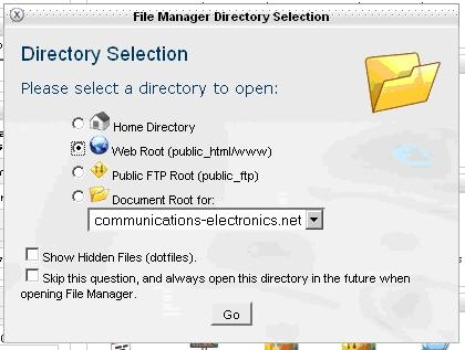 How To Use File Manager In CPanel - UK2 net - UK2 net Knowledgebase