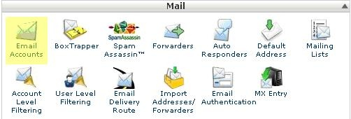 How To Create An Email Account In CPanel - UK2 net - UK2 net