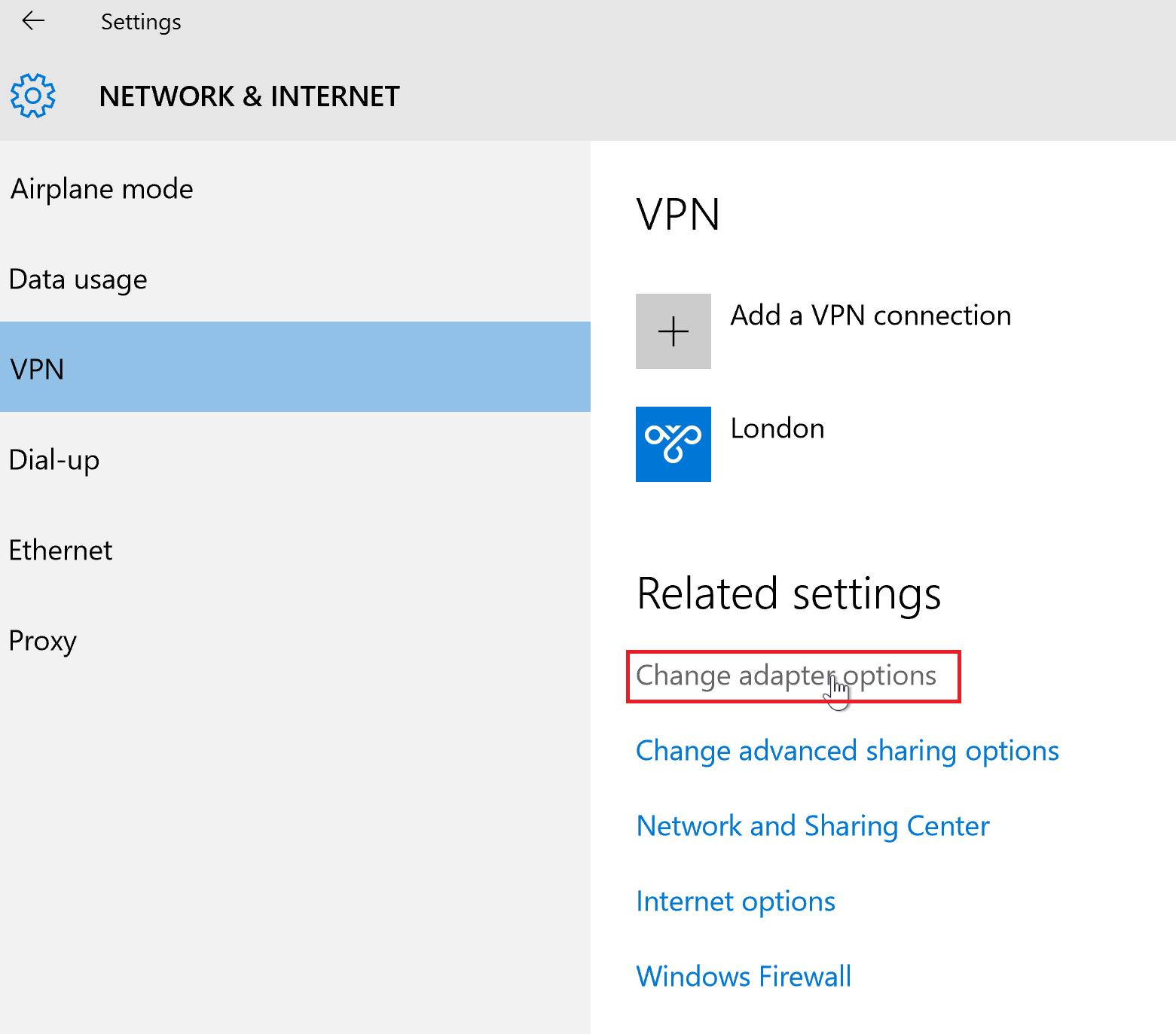 How To Set Up A VPN In Windows 10 L2TP - UK2 net - UK2 net