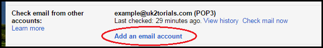 add email accounts